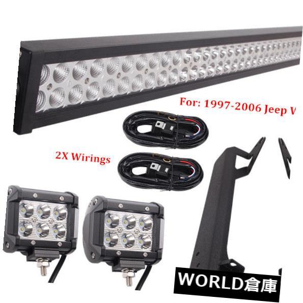 LEDライトバー 50インチ288W LEDライトバー+ 2X 18W 4
