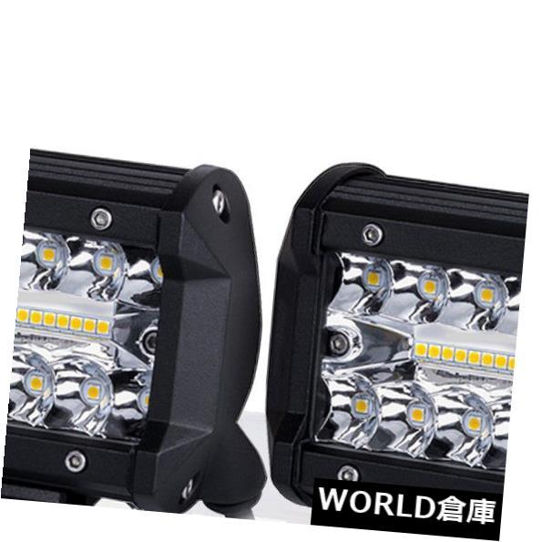 LEDライトバー 2本4インチ200WクリーLEDワークライトバーオフロードスポットライト作業用ドライビングランプ 2pcs 4inch 200W CREE LED Work Light Bars Offroad Spotlight Work Driving Lamp