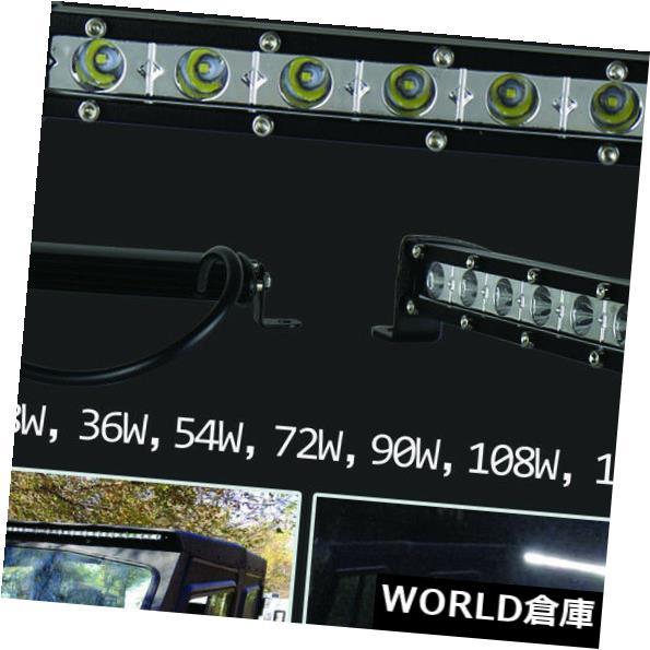 LEDライトバー 車の極度の細いLEDの点のライトバーの防水IP67 18W 5.5の単一の列のライトバー Car Extreme Slim LED Spot Light Bar Waterproof IP67 18W 5.5 Single Row Light Bar