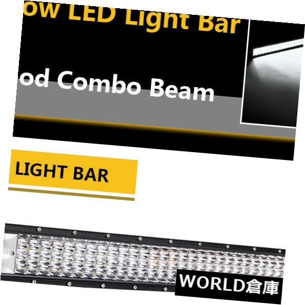 LEDライトバー 32インチ1224W LEDワークライトバーSPOT FLOODコンボビーム4列ボートオフロード 32