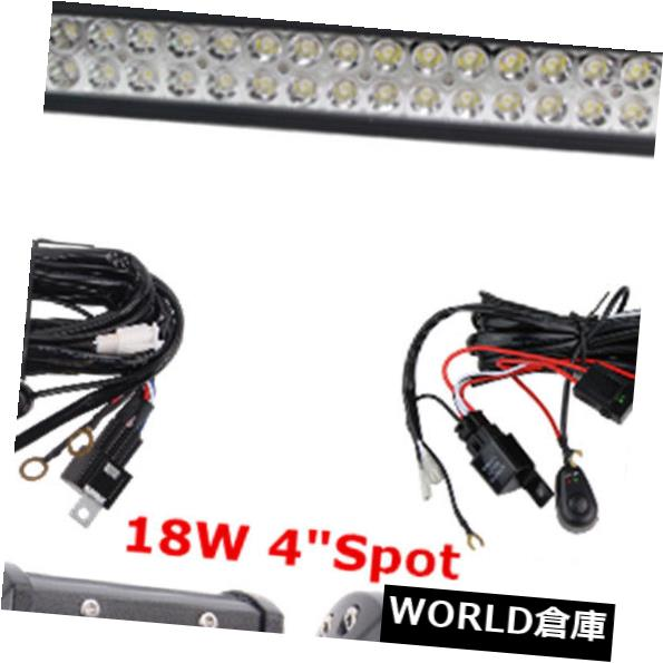 LEDライトバー 湾曲した50インチ288W LEDワークライトバー+ 4