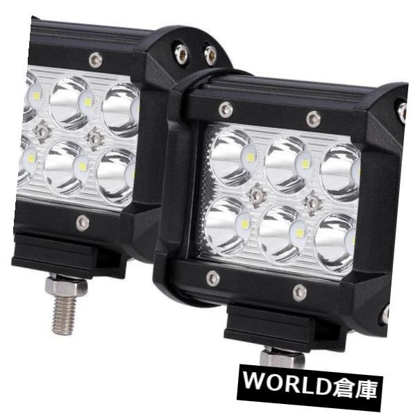 LEDライトバー 18W白いLEDの仕事の洪水のライトバー4WDのオフロード点ATV SUVの霧のドライビング・ランプ 18W White LED Work Flood Light Bar 4WD Offroad Spot ATV SUV Fog Driving Lamp