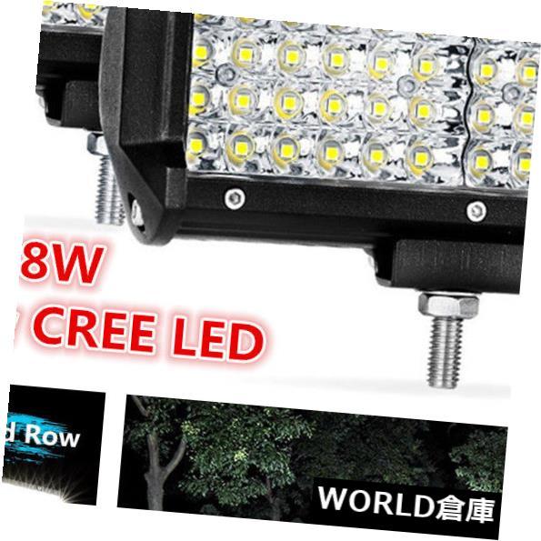 LEDライトバー 2ピースクワッド行クリー族ledポッド6.5 '288ワットオフロード作業ライトバースポットフラッドledキューブ 2pc Quad Row CREE LED Pods 6.5'' 288W Offroad Work Light Bar Spot Flood LED Cube