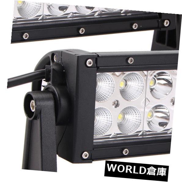 LEDライトバー 2X 8インチ36W LEDワークライトバーコンボドライブオフロードランプ4WD ATVエピスターネジ 2X 8INCH 36W LED WORK LIGHT BAR COMBO DRIVING OFFROAD LAMP 4WD ATV EPISTAR SCREW