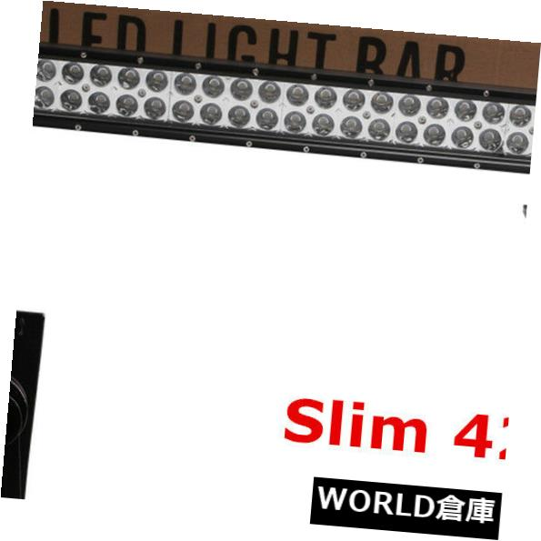 LEDライトバー PHILIPS SLIM 240W 42インチLEDライトバーオフロードジープATV RZR 4WDコンボPK 38/44 PHILIPS SLIM 240W 42