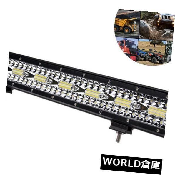 LEDライトバー 20インチ420W LEDワークライトバーフラッドスポットランプコンボ車トラックオフロード4×4 UTV 20 Inch 420W LED Work Light Bar Flood Spot Lamp Combo Car Truck Offroad 4x4 UTV