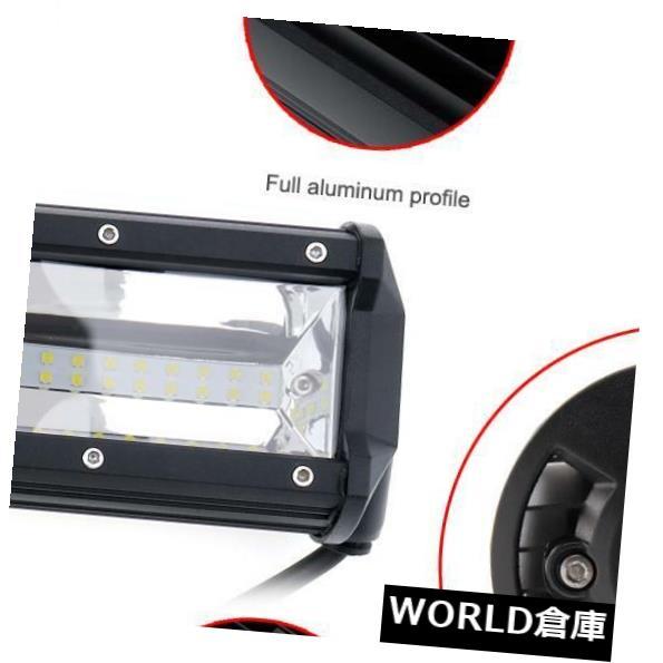 LEDライトバー 7 D 23インチ540 W車LEDワークライトバートリプル行スポット洪水コンボオフロードライト 7D 23 Inch 540W Car LED Worklight Bar Triple Row Spot Flood Combo Offroad Light