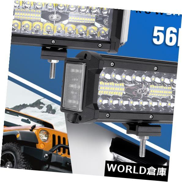 LEDライトバー 7インチ360WデュアルサイドシューターLEDワークライトバーコンボオフロードATVドライビングランプ 7 Inch 360W Dual Side Shooter LED Work Light Bar Combo Offroad ATV Driving Lamp