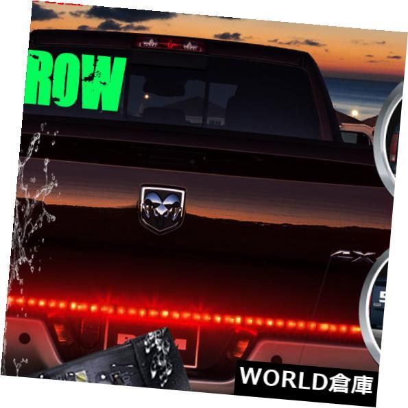 LEDライトバー 60インチピックアップトラックSUV LEDテールゲートライトバーストリップランニング/ブレーキ/ リバース/シグナル 60