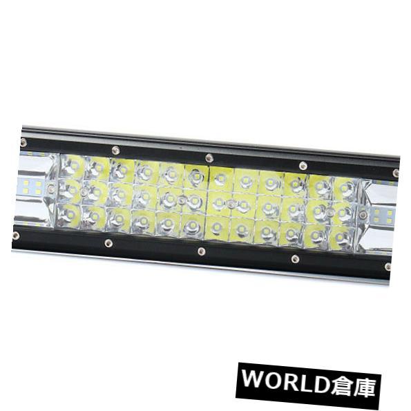 LEDライトバー 16インチ432W防水3列7 D LED作業ライトバースポットフラッドコンボB 6 S 8 16 Inch 432W Waterproof Tri-row 7D LED Work Light Bar Spot Flood Combo B6S8