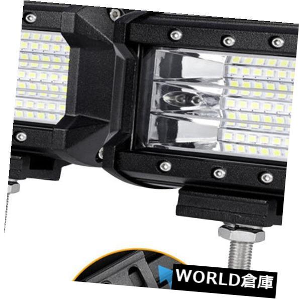 LEDライトバー 2x 5.2インチCREE LEDワークライトバーフラッドオフロードフォグ/エクステリアドライビングランプIP68 2x 5.2inch CREE LED Work Light Bar Flood OffRoad Fog/Exterior Driving lamp IP68