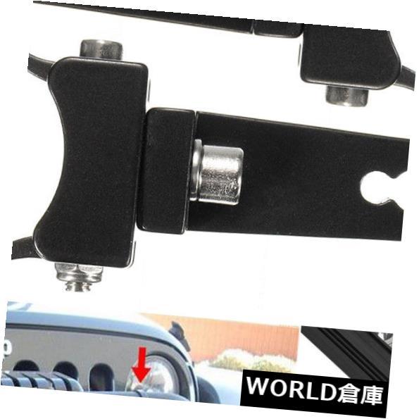 LEDライトバー 2x 1.75 ''マウントブラケットクランプチューブHID LEDライトブルバーロールケージ用オフ/ 2x 1.75'' Mount Bracket Clamp Tube HID LED Light Bull Bar Roll Cage For Off /