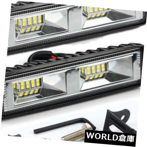 LEDライトバー 2Pc 48W 12V 16 LED作業光スポットビームバー車SUVオフロード運転Fo QVW 2Pc 48W 12V 16 LED Work Light Spot Beam Bar Car SUV Off-Road Driving Fo QVW