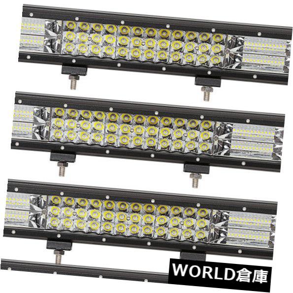 LEDライトバー 4ピース7d 17インチ252ワットコンボled作業ライトバースポットフラッドジープトラックボート3行eu 4PCS 7D 17inch 252W Combo LED Work Light Bar Spot Flood Jeep Truck Boat 3-Row EU