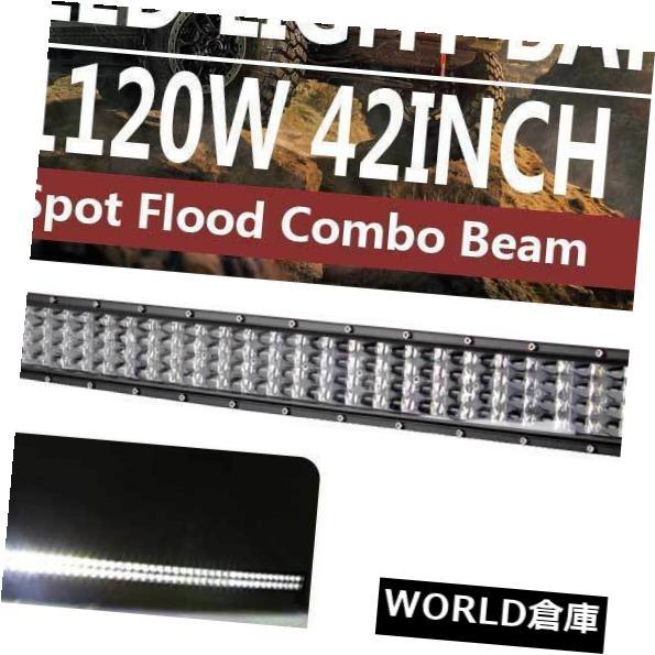 LEDライトバー 42インチ1120WカーブLEDワークライトバーSPOT FLOODコンボビームオフロードトラックボート 42inch 1120W Curved LED Work Light Bar SPOT FLOOD Combo Beam Offroad Truck Boat