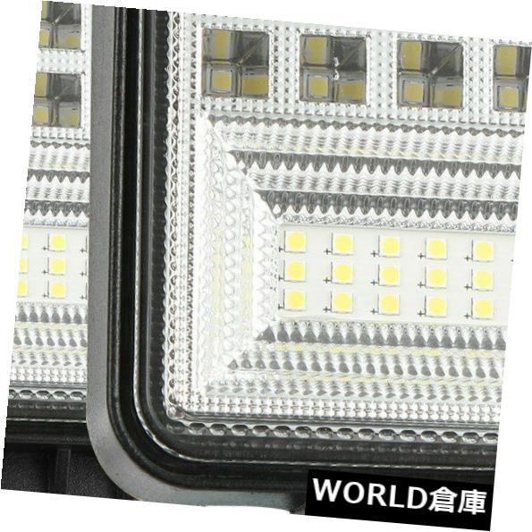 LEDライトバー 400ワット18 LEDワークバーライトスポットフラッドビームオフロード運転フォグ4WDランプSUV 5