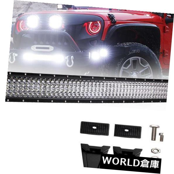 LEDライトバー 52 '' 972WスポットフラッドコンボLED駆動作業用ライトバージープATV UTV 4WD 52'' inch 972W Spot Flood Combo LED Driving Work Light Bar For Jeep ATV UTV 4WD