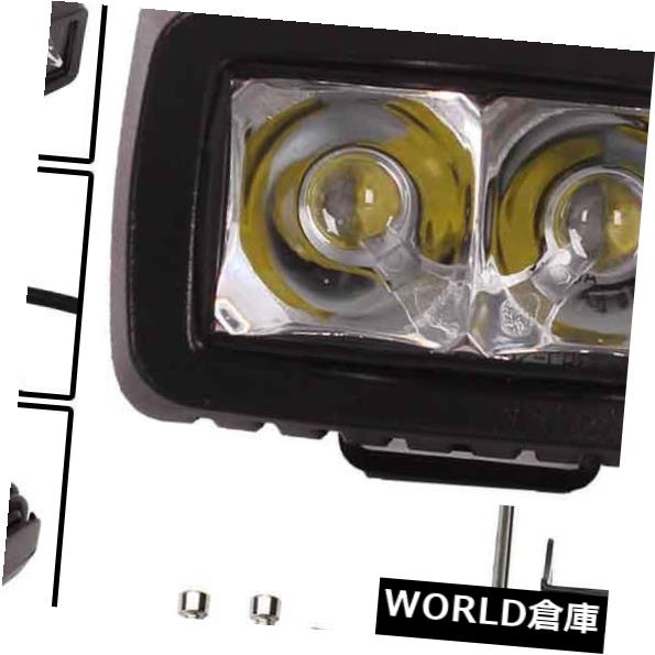 LEDライトバー 道SUVを離れた黒い10W洪水LEDの仕事のライトバーのドーム型トラックのジープ車ランプ Black 10W Flood LED Work Light Bar Dome Truck Jeep Car Lamp Off Road SUV