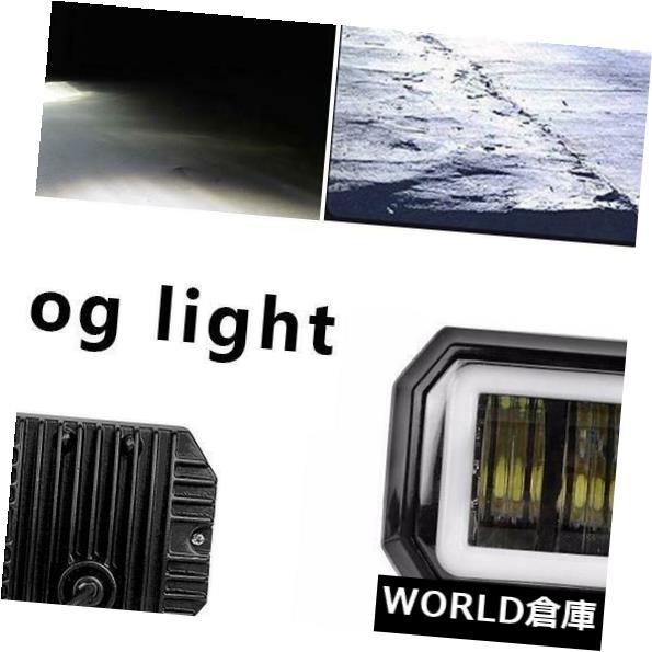 LEDライトバー 20ワットスクエアLED車オートバイスポットライトビームナイトドライビングライトワークライトバー 20W Square LED Car Motorcycle Spot Light Beam Night Driving Light Work Light Bar