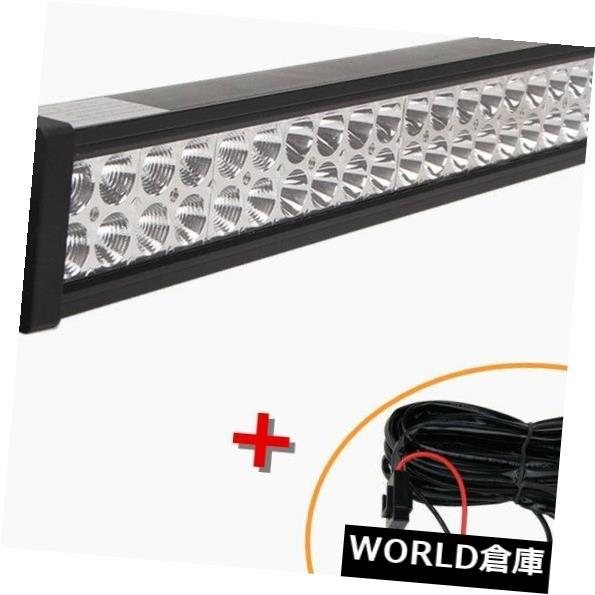 LEDライトバー 32インチ180W LEDワークライトバーコンボオフロードSUVランプ車のライト4WDトラック+ワイヤー 32inch 180W LED Work Light Bar Combo OffRoad SUV Lamp Car Light 4WD Truck+Wires