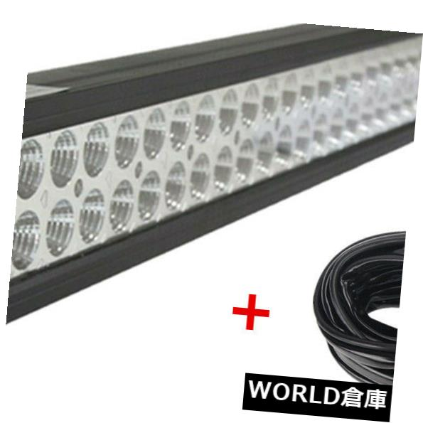 LEDライトバー 道12V 24V UTE 648Wを離れた配線キットとコンボ52inch 300W LEDの仕事のライトバー 52inch 300W LED Work Light Bar Combo With Wiring Kit Off road 12V 24V UTE 648W