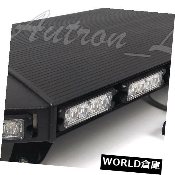 LEDライトバー 39インチ80W LED緊急ビーコン警告ルーフトラックストロボライトバーアンバーホワイト 39 Inch 80W LED Emergency Beacon Warning Roof Truck Strobe Light Bar Amber White