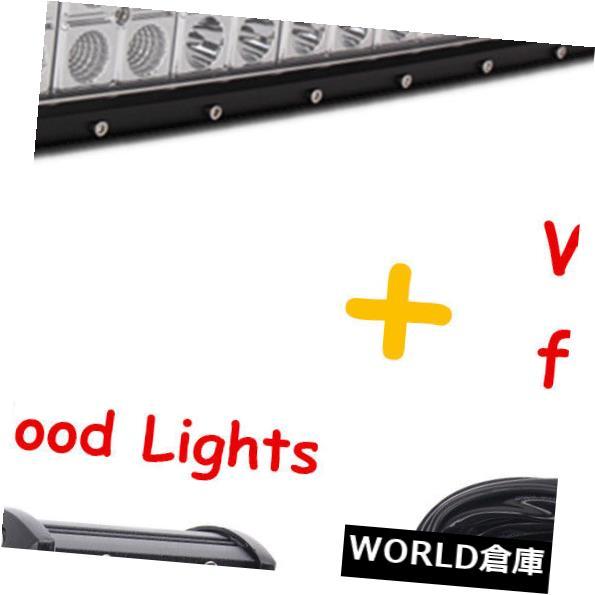 <title>車用品 バイク用品 >> パーツ 外装 エアロパーツ その他 LEDライトバー 湾曲した42インチ240W LEDライトバーコンボ+ 4