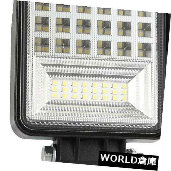LEDライトバー 4インチ126W LEDワークライトバーオフロードトラックスポットフラッドドライビングフォグランプC#P5 4 Inch 126W LED Work Light Bar Offroad Truck Spot Flood Driving Fog Lamp C#P5