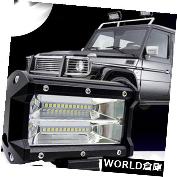 LEDライトバー 72WスポットLEDライトドライビングフォグワークバーランプオフロードSUV 4WD車ボートトラックホット 72W Spot LED Light Driving Fog Work Bar Lamp Offroad SUV 4WD Car Boat Truck Hot