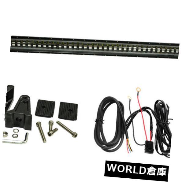LEDライトバー 46インチ210WクリーLEDライトバースポットオフロード4WDジープフラッシュストロボランプ+配線 46inch 210W CREE LED Light Bar Spot Offroad 4WD JEEP Flash Strobe Lamp+Wiring