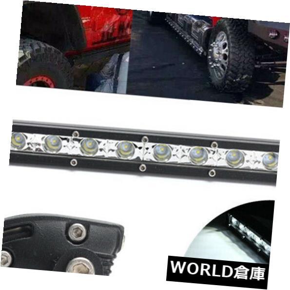 LEDライトバー 13インチ36W防水スポットビームワークライトバースリムLEDランプトラックI7R0 13inch 36W Waterproof Spot Beam Work Light Bar Slim LED Lamp for Truck I7R0