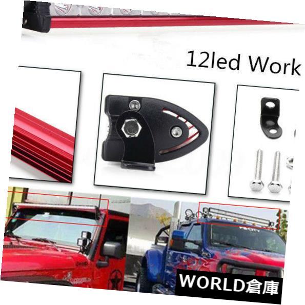 LEDライトバー 13インチ36W白色LED作業ライトバースポットビームオフロードATV FOGトラックランプ4WD 13Inch 36W White LED Work Light Bar Spot Beam Offroad ATV FOG Truch Lamp 4WD