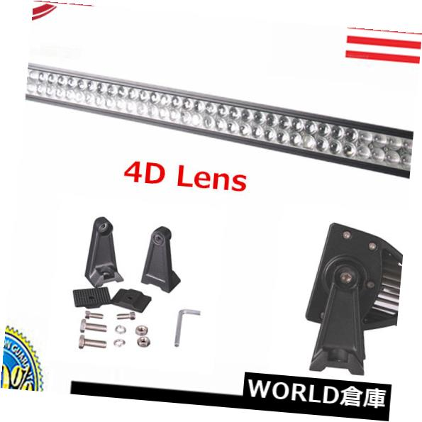 LEDライトバー 4D + 240W 42インチLEDライトバーオフロードコンボランプフォグボート4WD ATV UTE JEEP 38/44 4D+ 240W 42INCH LED LIGHT BAR OFFROAD COMBO LAMP FOG BOAT 4WD ATV UTE JEEP 38/44