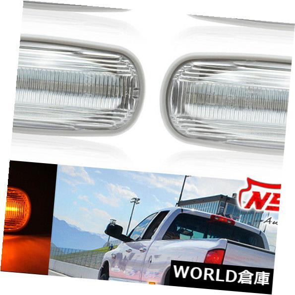 車用品 バイク用品 >> 2020モデル パーツ ライト ランプ ウインカー サイドマーカー 03-09 DODGE RAM 2500 3500 Rear LEDフロント Bed リアデュアルベッドサイドフェンダーマーカーライト Front LED For Side 至上 Light Marker Dually Fender