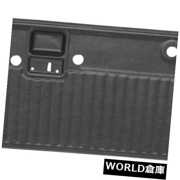 インテリアパネルフォードブロンコ68-77フルパワー2ピースブルゴーニュ用インテリアプリーツドアパネルカバー Interior Pleated Door Panel Cover for Ford Bronco 68-77 Full Power 2pc Burgundy:WORLD倉庫 店