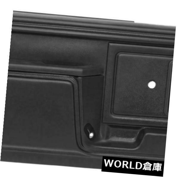 超歓迎 インテリアパネル1980-1986フォードブラックフルパワーのための内部ドアパネルキャップカバースキンオーバーレイ Interior Door Panel Cap Cover Skin Overlay for 1980-1986 Ford Black Full Power, 東京のブランドショップ 83052eff