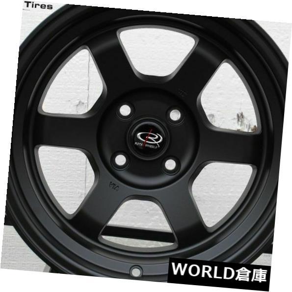 【ポイント10倍】 海外輸入ホイール 16x8 V 5x114.3 Rota Grid V Set(4) 5x114.3 20フラットブラックホイールリムセット(4) 16x8 Rota Grid V 5x114.3 20 Flat Black Wheels Rims Set(4), ジュエリーボックスのピィアース:5a2a67fe --- aptapi.tarjetaferia.com.mx