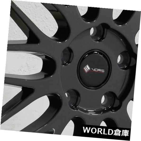 世界の 海外輸入ホイール 18x9 VR8 Vors VR8 5x120 Rims 35ハイパーブラックホイールリムセット(4) 18x9 Vors VR8 5x120 5x120 35 Hyper Black Wheels Rims Set(4), コスメプリマ:40c70a02 --- svatebnidodavatel.cz