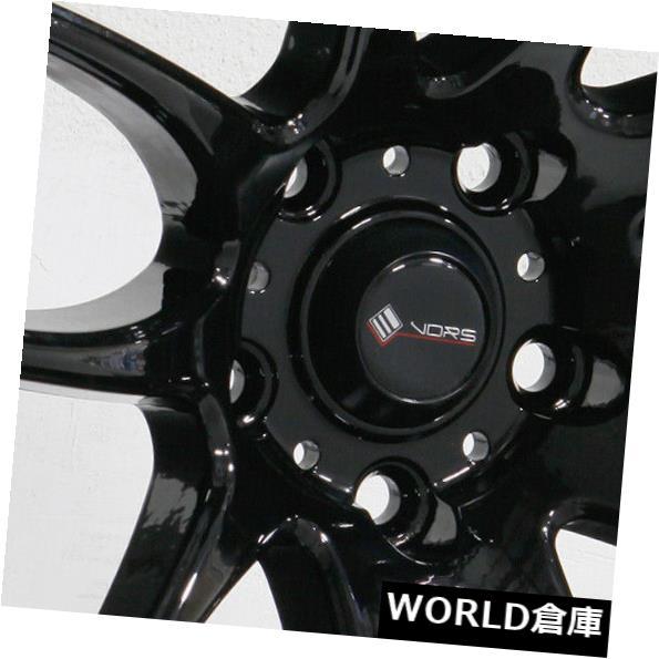 品質一番の 海外輸入ホイール 18x9.5 18x9.5 Vors TR4 5x108 35ブラックホイールリムセット(4) TR4 18x9.5 Vors TR4 Black 5x108 35 Black Wheels Rims Set(4), 住宅専門金物卸販売 キザイ本舗:02cdf698 --- ceremonialdovesoftidewater.com
