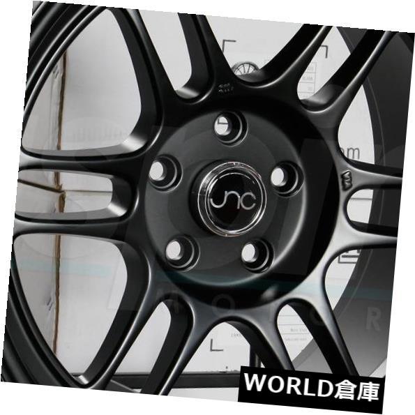 逆輸入 海外輸入ホイール 18x10.5 JNC set(4) 021 021 JNC021 5x114.3 5x114.3 25マットブラックホイールリムセット(4) 18x10.5 JNC 021 JNC021 5x114.3 25 Matte Black Wheel Rims set(4), Accessoires Favori:1afdf051 --- ceremonialdovesoftidewater.com