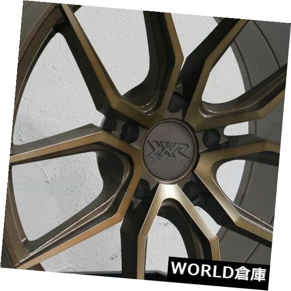 海外輸入ホイール 19x8.5 XXR 559 5x114.3 20ブロンズホイールリムセット(4) 19x8.5 XXR 559 5x114.3 20 Bronze Wheels Rims Set(4)