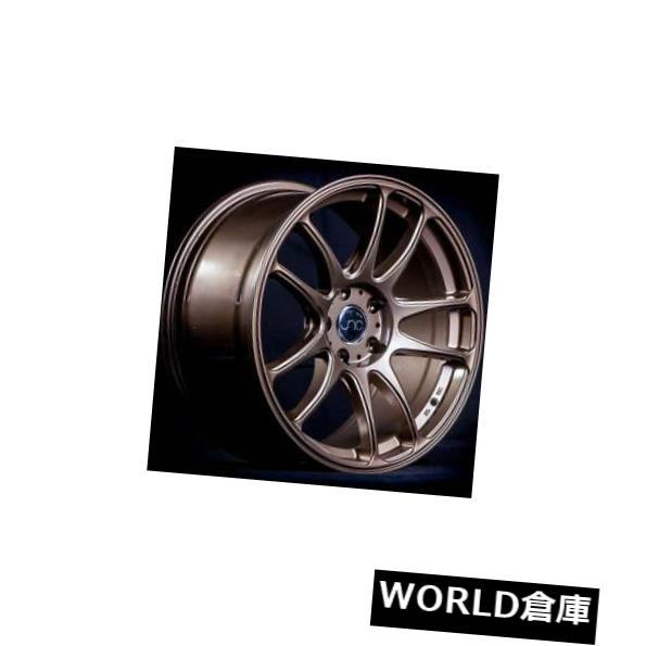 海外輸入ホイール 18x9 / 18x10 JNC 030 JNC030 5x114.3 30/30ブロンズホイールの新しいセット(4) 18x9/18x10 JNC 030 JNC030 5x114.3 30/30 Bronze Wheel New set(4)
