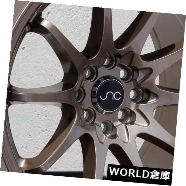 海外輸入ホイール 17x9 JNC 006 JNC006 5x100 / 5x112 30ブロンズホイールリムセット(4) 17x9 JNC 006 JNC006 5x100/5x112 30 Bronze Wheel Rims set(4)