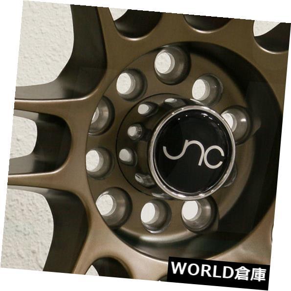 海外輸入ホイール 17x9.5 JNC 021 JNC021 5x100 / 5x120 15マットブロンズホイールリムセット(4) 17x9.5 JNC 021 JNC021 5x100/5x120 15 Matte Bronze Wheel Rims set(4)