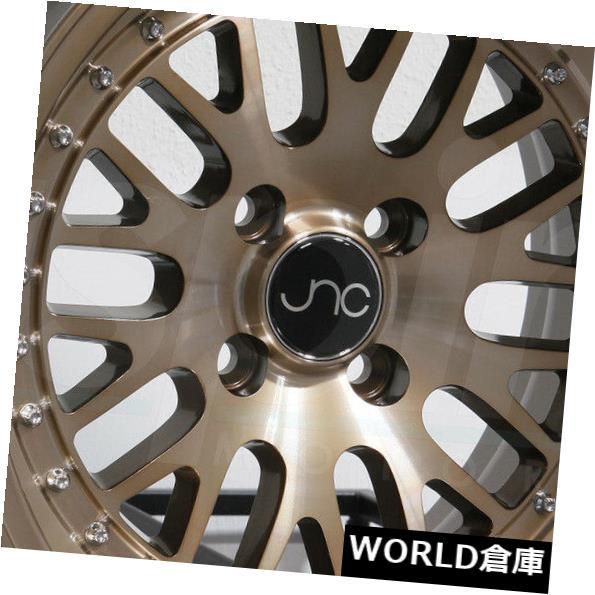 正規品販売! 海外輸入ホイール Rims 5x100/5x112 17x9 JNC 001 JNC001 5x100 17x9/ 5x112 20透明ブロンズホイールリムセット(4) 17x9 JNC 001 JNC001 5x100/5x112 20 Transparent Bronze Wheel Rims set(4), ワイシャツとネクタイ専門店ビズモ:28b0b9a8 --- kalpanafoundation.in