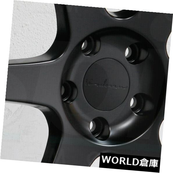 海外輸入ホイール 19x9.5 Vordoven Forme 10 5x114.3 22マットブラックホイールリムセット(4) 19x9.5 Vordoven Forme 10 5x114.3 22 Matte Black Wheels Rims Set(4)