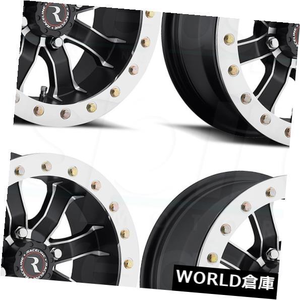 お買い得モデル 海外輸入ホイール 14x7 14x7 Raceline Black A71 Mamba Beadlock 4x137 10ブラックホイールリムセット(4) 14x7 Rims Raceline A71 Mamba Beadlock 4x137 10 Black Wheels Rims Set(4), オガシ:ccd70a2a --- unifiedlegend.com