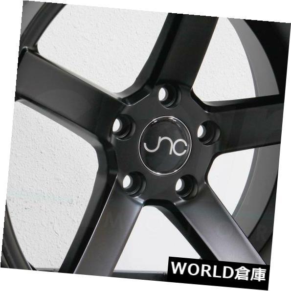 見事な創造力 海外輸入ホイール 18x8/ 18x10 JNC 026 JNC026 5x120 5x120 Wheel JNC 35/25マットブラックホイールNew set(4) 18x8/18x10 JNC 026 JNC026 5x120 35/25 Matte Black Wheel New set(4), フカガワシ:2d3a99c5 --- learningcentre.co
