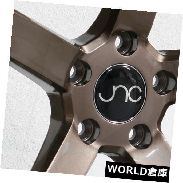 【送料無料/即納】  海外輸入ホイール 026 18x8/ 18x10 18x10 JNC 026 JNC026 5x120 18x8/18x10 35/25グロスブロンズホイールの新しいセット(4) 18x8/18x10 JNC 026 JNC026 5x120 35/25 Gloss Bronze Wheel New set(4), ハンガー屋:208ddc20 --- learningcentre.co