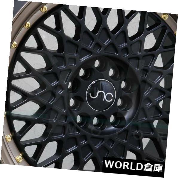 特別オファー 海外輸入ホイール 18x9.5 JNC 031 JNC031 5x114.3 5x114.3 5x114.3 35ブラックマシンブロンズホイールリムセット(4) 18x9.5 JNC 35 031 JNC031 5x114.3 35 Black Machine Bronze Wheel Rims set(4), KURANBON:27257f52 --- learningcentre.co